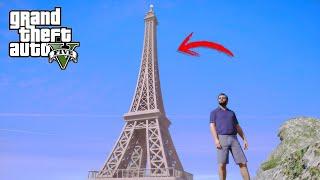 PARIS DENTRO DE GTA V - La Torre Eiffel de Grand Theft Auto 5|EdgarFtw