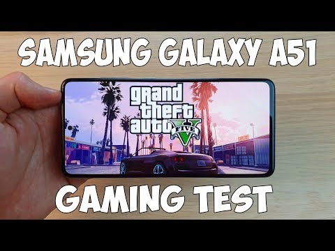SAMSUNG GALAXY A51 GAMING TEST (EXYNOS 9611) - ИГРОВОЙ ТЕСТ!