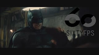 [60FPS] Batman v Superman Ultimate Edition warehouse fight Scene 60FPS HFR HD