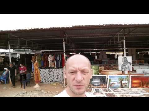 Angola Luanda bazar z pamiatkami