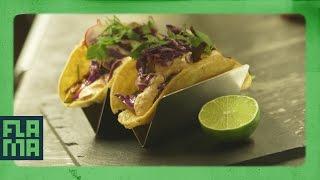 Just Tacos || Crispy Veggie Taco Ft. Chef Roblé