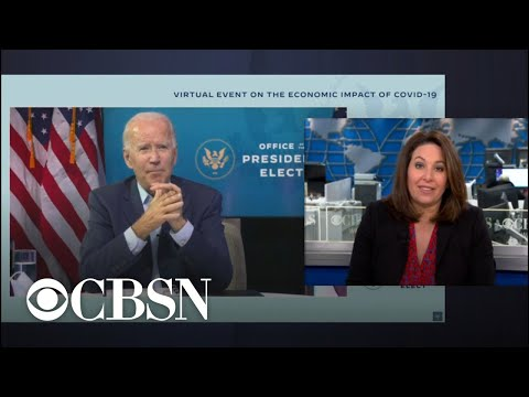 Biden urges Congress to act on COVID-19 economic stimulus bill