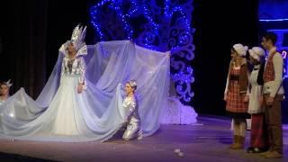 """Вистава """"Снігова королева"""" у Хмельницькому. Уривок"""