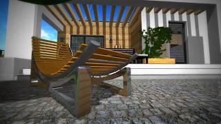 EliteCAD AR 14 /  Wirtualny spacer / outside / VR /