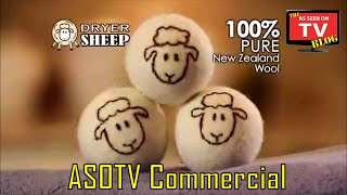 Dryer Sheep As Seen On TV Commercial Buy Dryer Sheep As Seen On TV Wool Dryer Balls