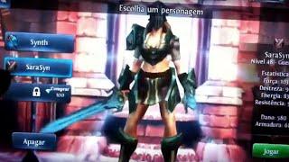 Dungeon Hunter 3 Gameplay on Blackberry Playbook - Female Warrior - Karkates Challenge