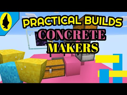 How To Make Concrete In Minecraft 2020