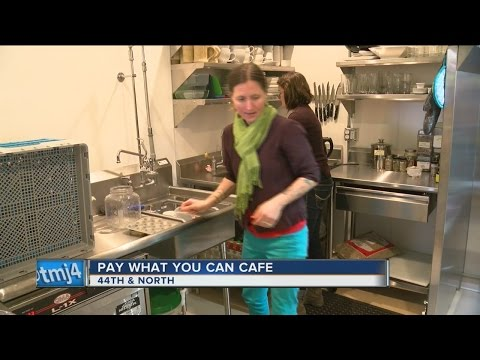 "New ""pay-what-you-can-cafe"" opens in Milwaukee"