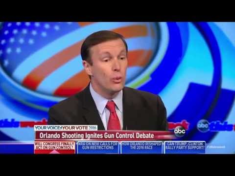 Sen. Chris Murphy Admits Legislation Not Designed To Stop Recent Tragedies