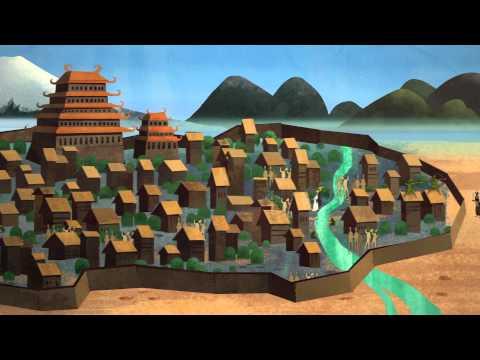 Evolution of settlements