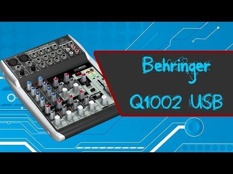 behringer q1002usb review en espa ol youtube. Black Bedroom Furniture Sets. Home Design Ideas