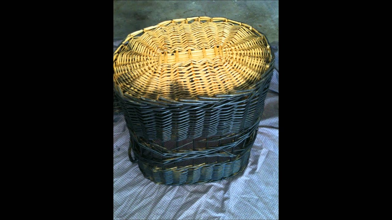 Painting Wicker Furniture Youtube