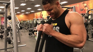 Gym Vlog | Chest & Arms Workout | @hodgetwins