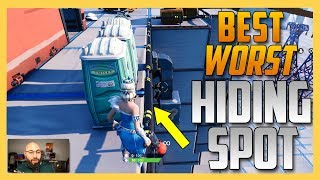 Hide & Seek - The BEST WORST Hiding Spot in Fortnite Creative | Swiftor