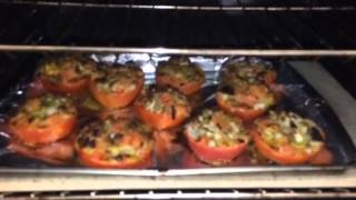 Oven Baked Stuffed Tomatoes  Recipe   Given   To  Me  By  My Sister .