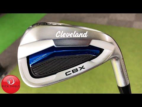 NEW CLEVELAND LAUNCHER CBX IRONS REVIEW - RICK SHIELS