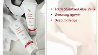 Forever Living Products Aloe Heat lotion for muscle pain