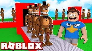 FÁBRICA DO FREDDY NO ROBLOX!! (Five Nights at Freddy's Tycoon)
