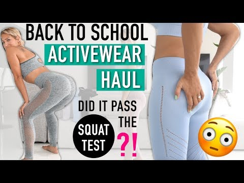 ACTIVEWEAR Try On Haul | New Brand For Workout Clothes