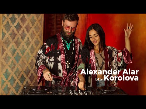 Alexander Alar b2b Korolova - Live @ Radio Intense 8.12.2020 / Progressive House & Melodic Techno