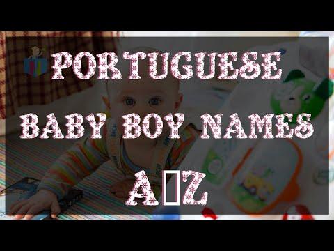 Top Modern Portuguese Baby Boy Names