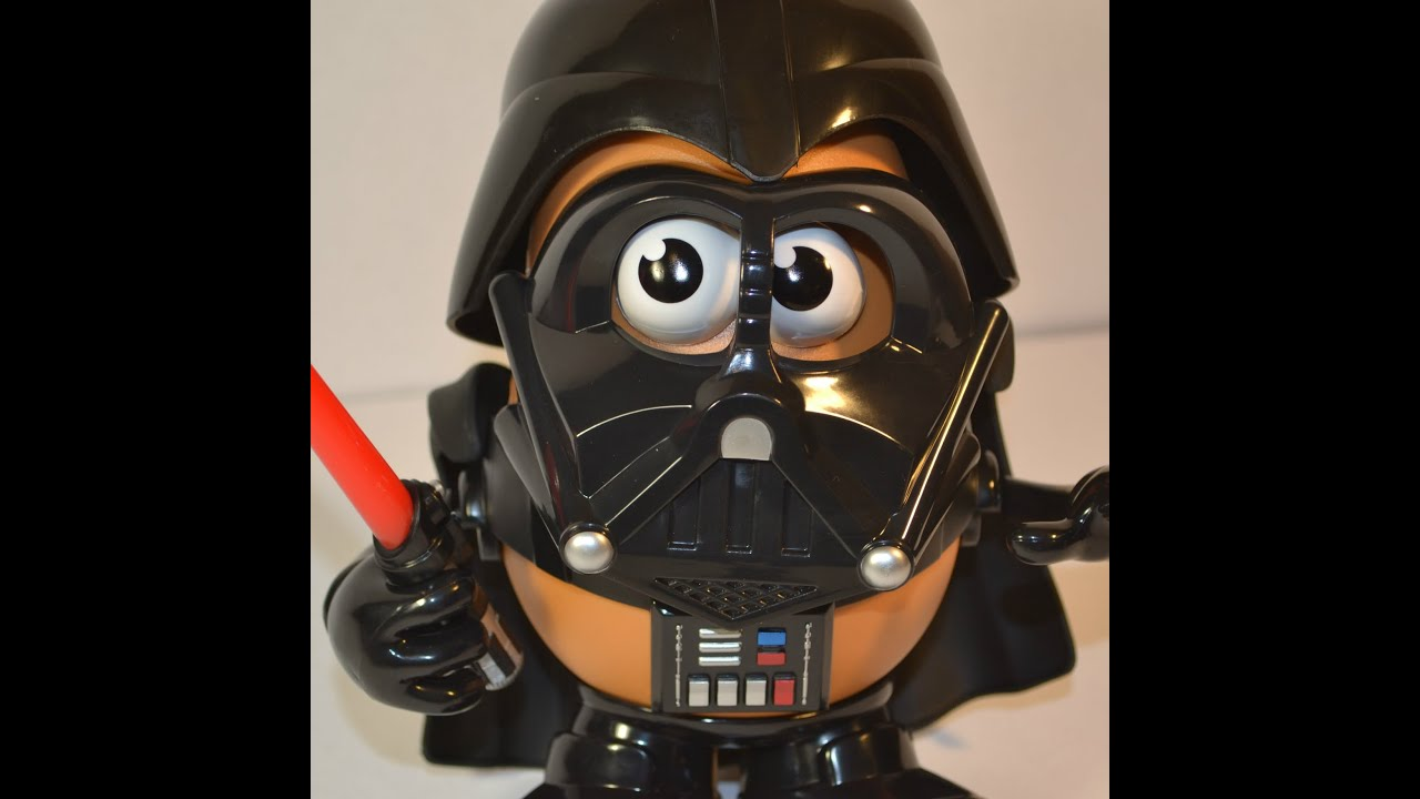 Darth Tater Toy Unboxing Star Wars Force Awakens