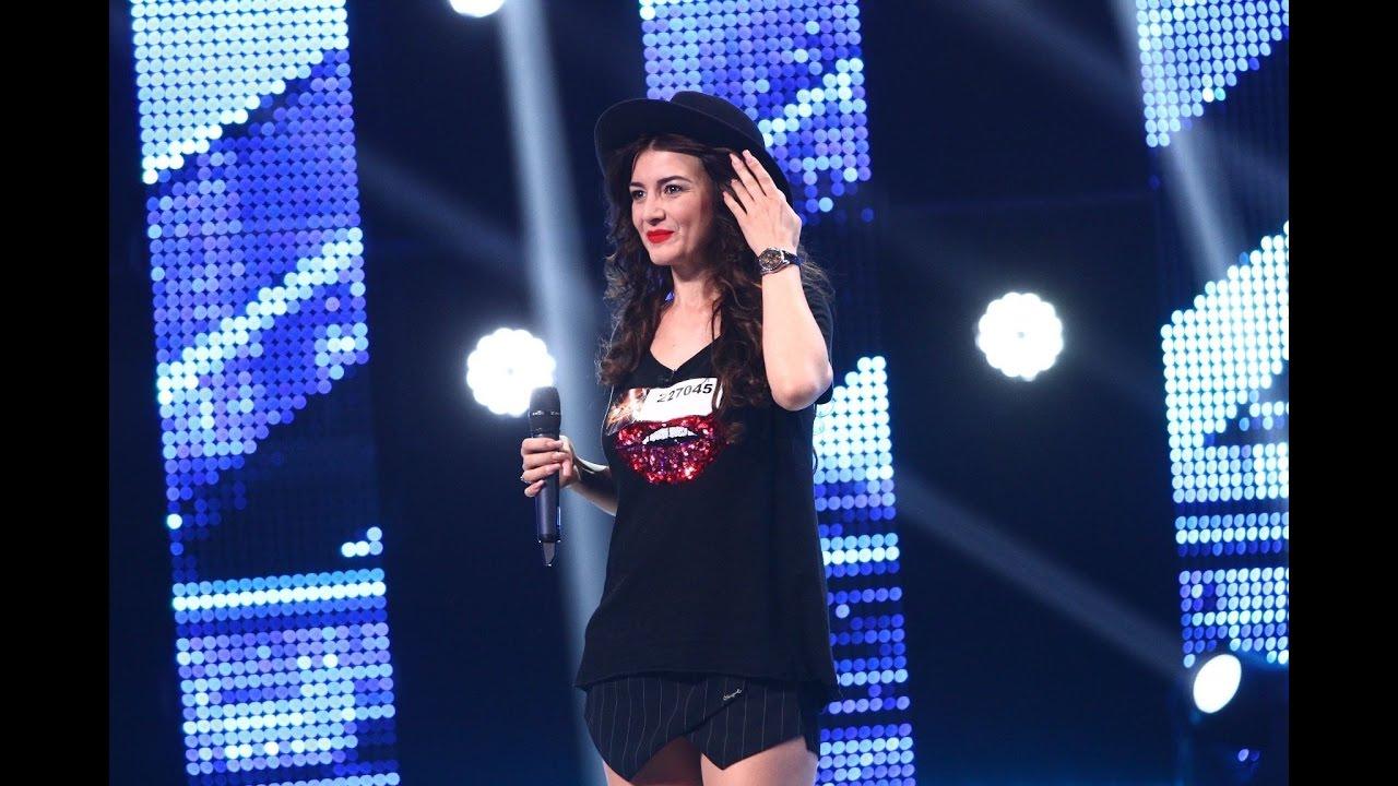 Ana Maria Mirică a dat juriul pe spate! A trecut de la rock, la muzică populară şi înapoi