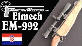 Elmech EM-992: Croatia's First Domestic Sniper Rifle
