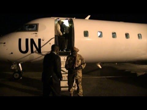 Central African rebels arrive in Gabon for peace talks