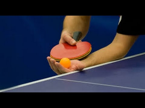 apprentissage du tennis de table le service bombe youtube. Black Bedroom Furniture Sets. Home Design Ideas