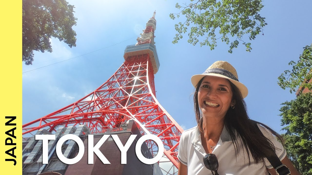 Imperial Palace and Tokyo Tower | Japan travel guide (vlog 2)