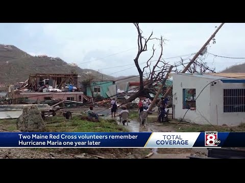 Maine Red Cross volunteers remember Hurricane Maria one year later