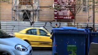 Miriam Simun  Grey Water Distribution System  Kappatos Athens Art Residency  March 2014