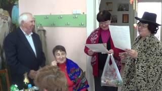 Детская библиотека п.Горняк Поздравление Зиновьева Н.Е. с Юбилеем.