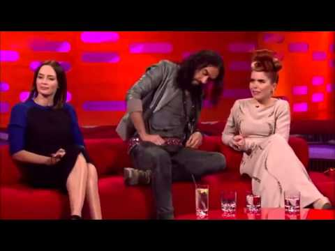 The Graham Norton Show 2012 S11x10 Emily Blunt, Russell Brand and Paloma Faith Part 2 YouT
