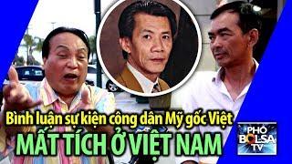 Bình luận sự kiện công dân Mỹ gốc Việt Michael Nguyen mất tích ở Việt Nam