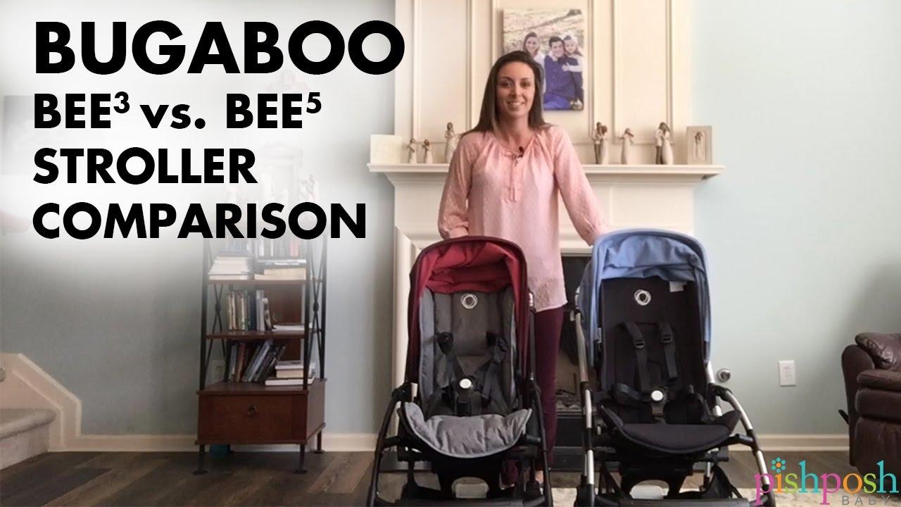 Bugaboo Bee3 vs Bee5 Comparison video - YouTube