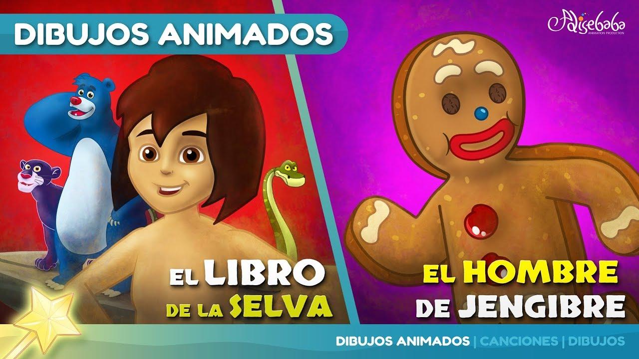 El Libro de la Selva cuentos infantiles para dormir & animados
