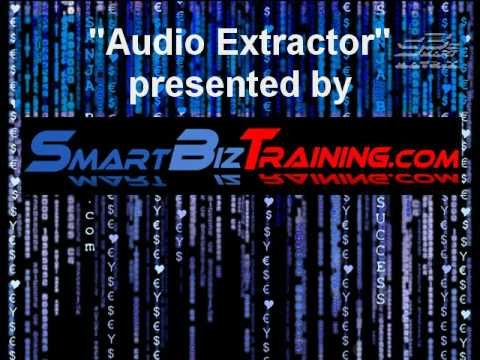 How to extract audio from video, how to get mp3 from video: Audio Extractor