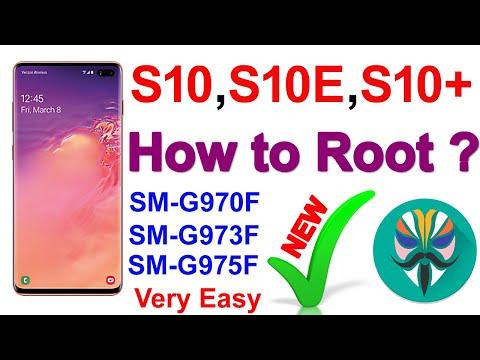 Samsung Galaxy S10 Root G973F   Galaxy S10 Plus Root G975F   Root G970F