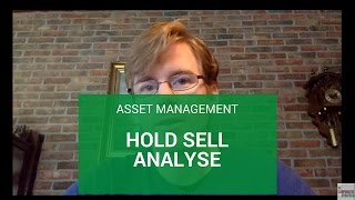 Asset Management: hold sell analyse