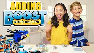 LEGO BOOST + NINJAGO + CITY = AWESOME!- The Build Zone​