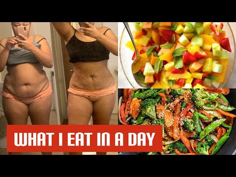 WHAT I EAT IN A DAY TO LOSE WEIGHT   30 POUNDS IN 30 DAYS