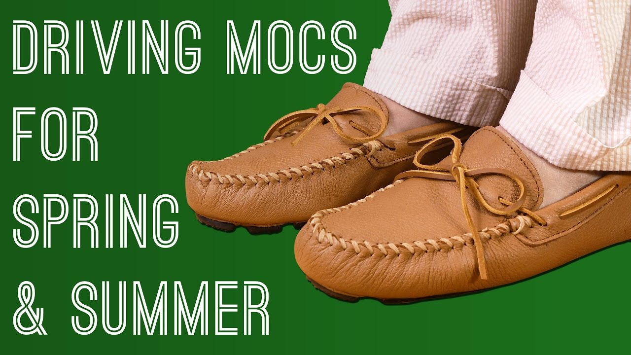 bea16665c Driving Mocs - Why Handmade Leather Mocassins Are Perfect Casual ...