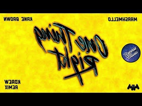 marshmello-x-kane-brown---one-thing-right-(kdrew-remix)-[reverse]