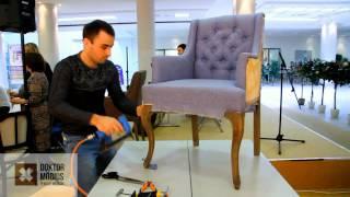 Мастер-класс по перетяжке мебели