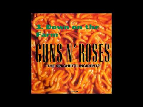 GN'R The Spaghetti Incident ? 3. Down On The Farm album audio