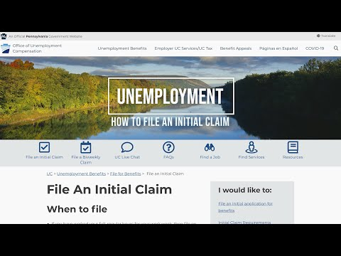 How To File An Unemployment Claim In PA During The Coronavirus Outbreak