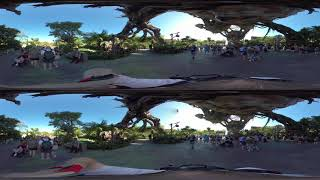 Pandora from Avatar at Disney's Animal Kingdom in 360 and 3D
