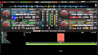 Mix 4 songs in Virtual Dj (Sample)